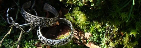 Bijoux bretons en argent massif